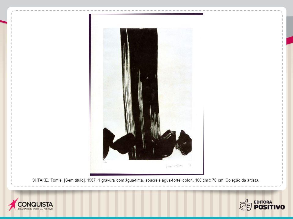OHTAKE, Tomie. [Sem título]. 1987